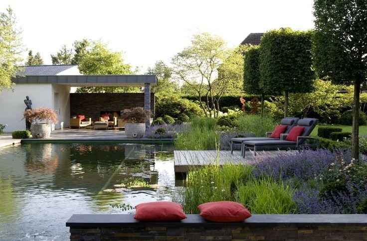 Paysagiste jardins contemporains jardin m diterran en for A little off the top salon