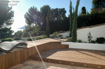 Terrasse Ipé,  Cannes 06, paysagiste vincent aujard