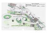 Plan masse jardin privé, Paysagiste Vincent Aujard